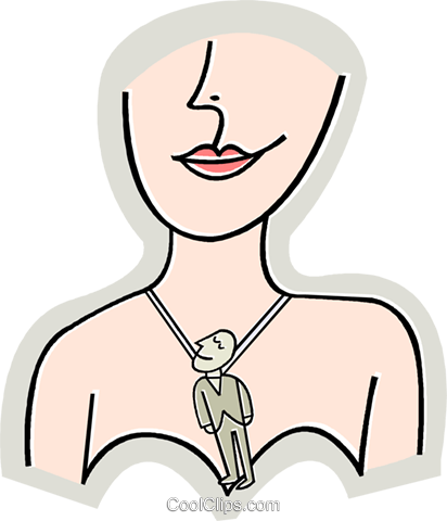 Jewelry Royalty Free Vector Clip Art illustration vc015721