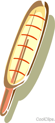 thermometer Royalty Free Vector Clip Art illustration vc015959