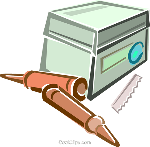 test tubes Royalty Free Vector Clip Art illustration vc015966