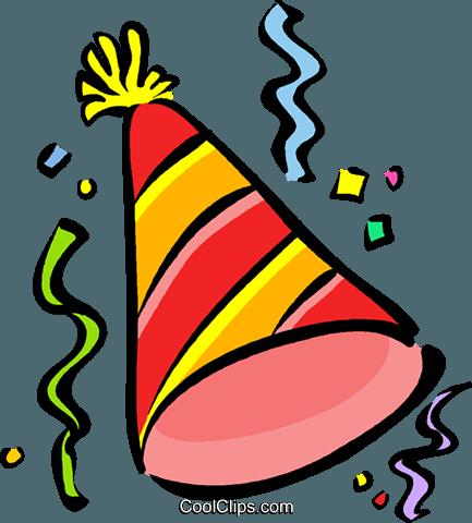 chapeau de fête Vecteurs de stock et clip-Art vectoriel ...