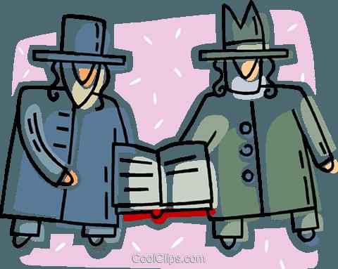 due uomini ebrei ortodossi in possesso di un libro immagini