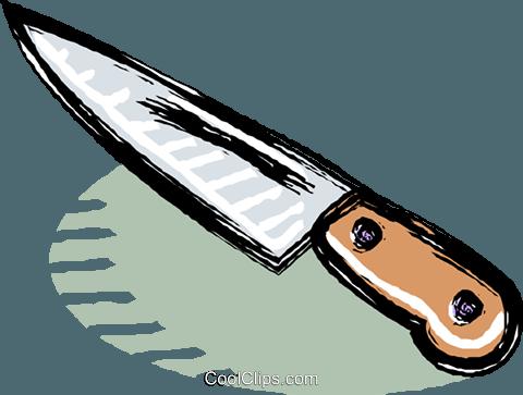 Messer clipart  Küchenmesser Vektor Clipart Bild -vc017982-CoolCLIPS.com