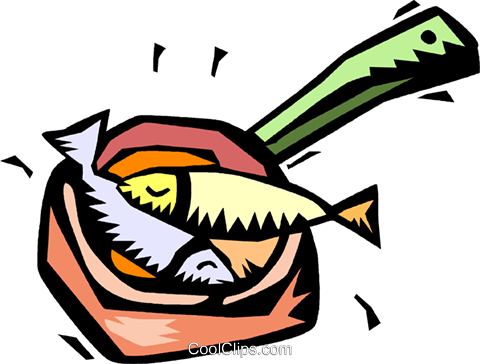 Fish fry clipart