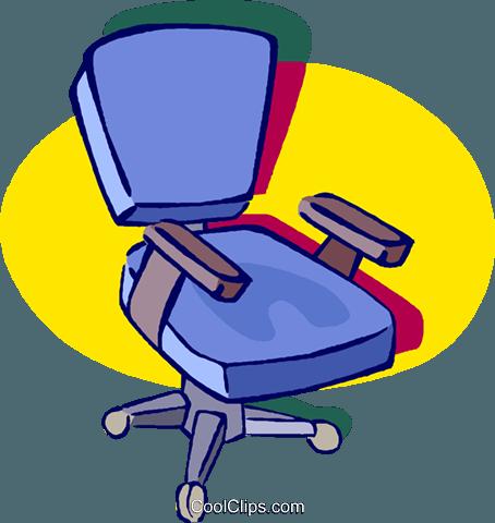 Bürostuhl comic  office chairs Royalty Free Vector Clip Art illustration -vc019025 ...