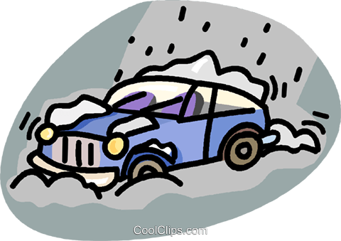 Dangerous Driving With Snow-covered Windshield , Free Transparent Clipart -  ClipartKey