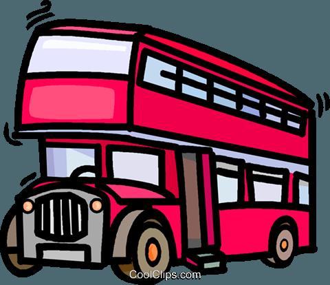 Doppeldecker Bus Vektor Clipart Bild -vc019549-CoolCLIPS.com