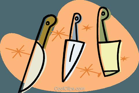 Küchenmesser clipart  Küchenmesser Vektor Clipart Bild -vc019760-CoolCLIPS.com