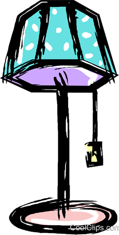 Stehlampe Clipart