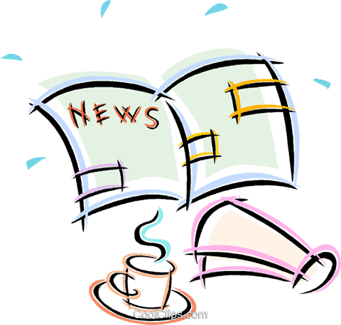 Image result for morning news clipart