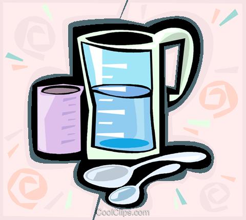 Cup of water cartoon
