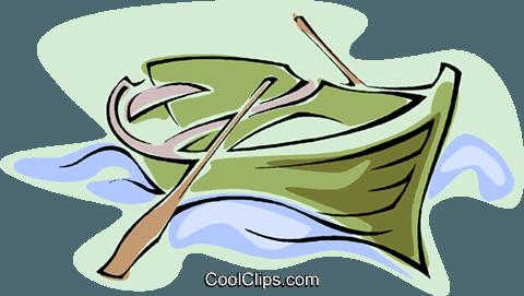 Ruderboot Vektor Clipart Bild -vc020899-CoolCLIPS.com