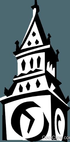 Turmuhr clipart  Big Ben Uhrturm Vektor Clipart Bild -vc021014-CoolCLIPS.com