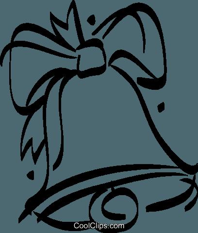 Christmas Bells Royalty Free Vector Clip Art Illustration Vc021034