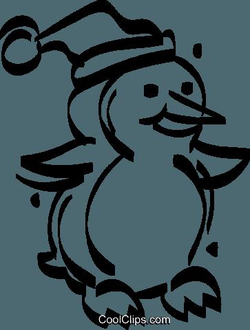 weihnachten pinguin vektor clipart bild vc021048. Black Bedroom Furniture Sets. Home Design Ideas