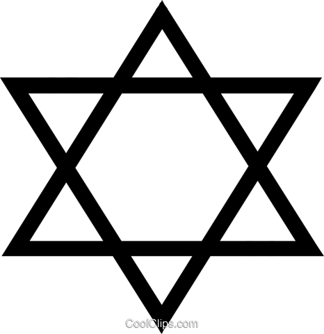 judaism star of david royalty free vector clip art illustration rh search coolclips com Galileo Clip Art Clip Art with Transparent Background