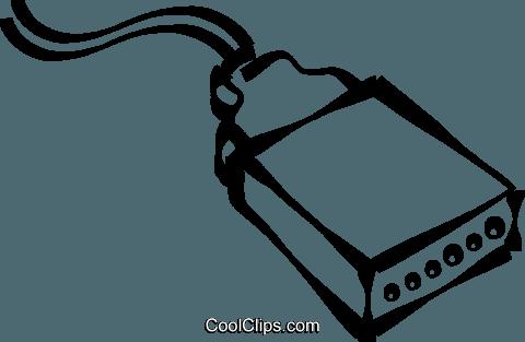 Computer-Kabel Vektor Clipart Bild -vc021636-CoolCLIPS.com