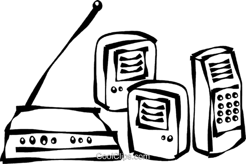 computer speakers clipart. computer speakers royalty free vector clip art illustration clipart