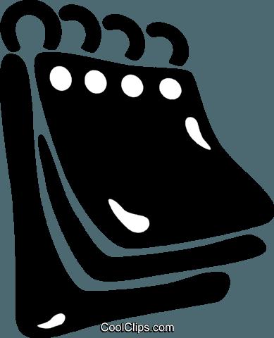 Calend rio livre de direitos vetores clip art ilustra o for Clipart calendario
