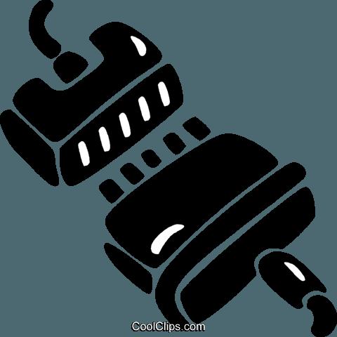 Computer-Kabel Vektor Clipart Bild -vc021915-CoolCLIPS.com