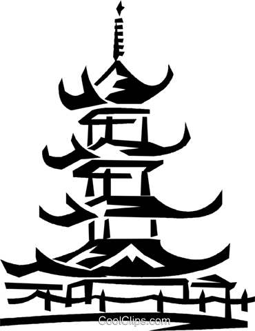 asian temple royalty free vector clip art illustration vc022161 rh search coolclips com temple clipart png temple clipart