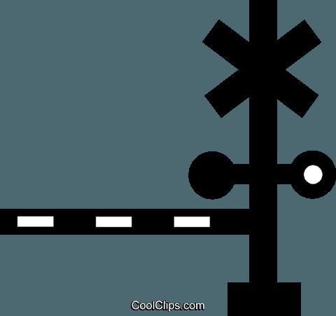 Railroad Crossing Clip Art railway crossing Royal...