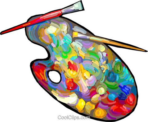 Clip Art Free Paint Palette