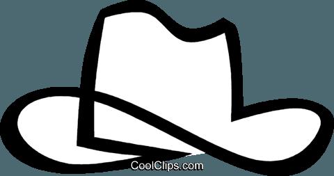 Chapéu de vaqueiro livre de direitos Vetores Clip Art ilustração ... f6781035ac9