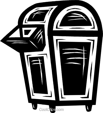 mail box Royalty Free Vector Clip Art illustration vc026457