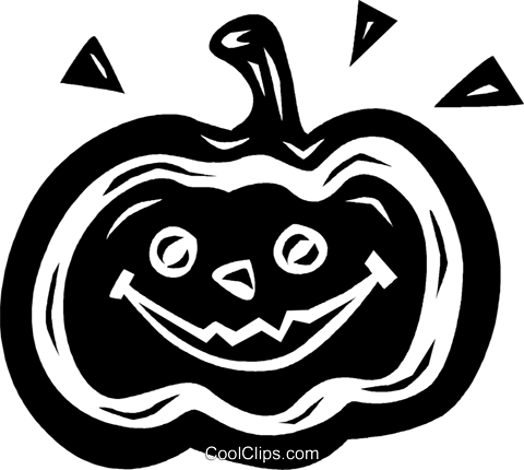 jack-o-lantern Royalty Free Vector Clip Art illustration vc026596