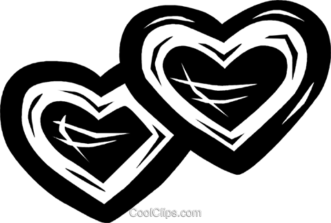 hearts/valentines day Royalty Free Vector Clip Art illustration vc026622