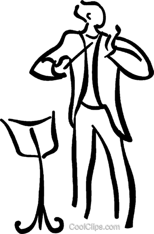 conductor Royalty Free Vector Clip Art illustration vc026648