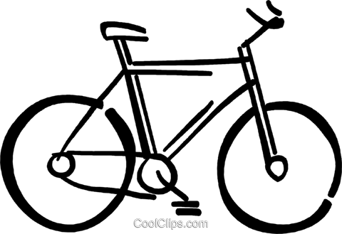 10 speed bicycle Royalty Free Vector Clip Art illustration vc026724