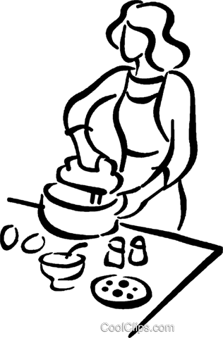 chef Royalty Free Vector Clip Art illustration vc026771