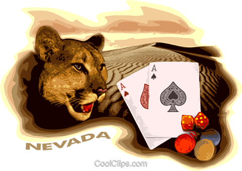 Nevada Royalty Free Vector Clip Art illustration vc026784