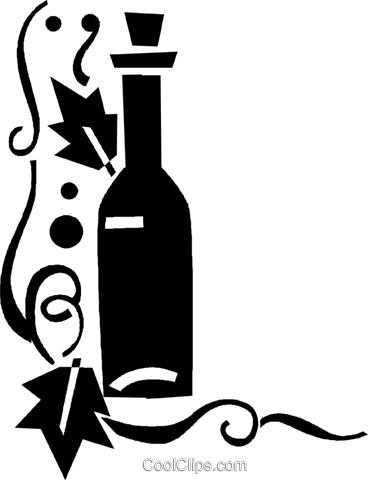 wine Royalty Free Vector Clip Art illustration vc026858