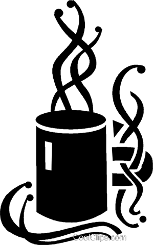 coffee cup Royalty Free Vector Clip Art illustration vc026859