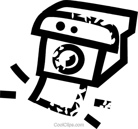Polaroid camera Royalty Free Vector Clip Art illustration vc026893