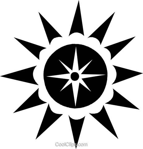 sun Royalty Free Vector Clip Art illustration vc027011