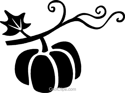 pumpkin Royalty Free Vector Clip Art illustration vc027039
