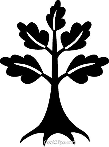 tree Royalty Free Vector Clip Art illustration vc027043