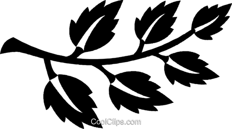 leaves Royalty Free Vector Clip Art illustration vc027045