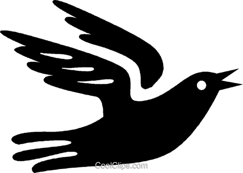 dove Royalty Free Vector Clip Art illustration vc027063