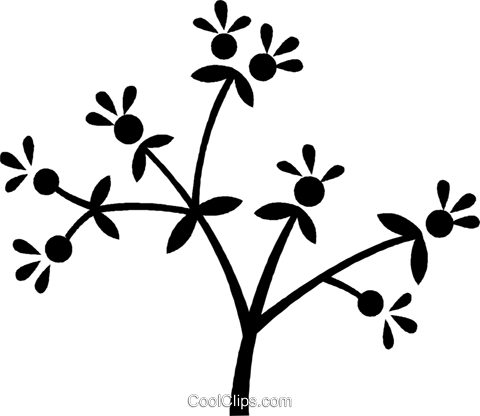 flowers Royalty Free Vector Clip Art illustration vc027083
