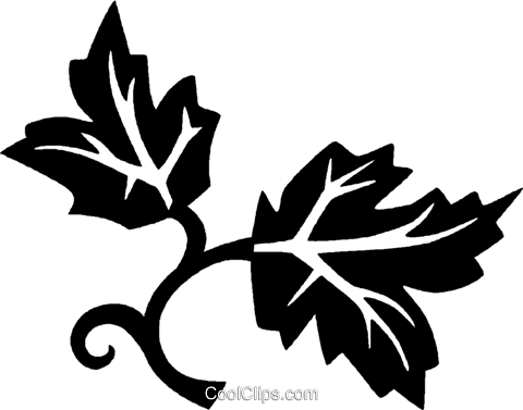 leaves Royalty Free Vector Clip Art illustration vc027174