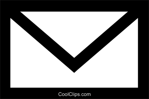 envelope Royalty Free Vector Clip Art illustration vc027199