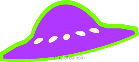 ufo Royalty Free Vector Clip Art illustration vc027222