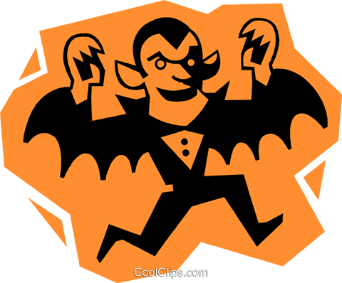 Count Dracula Royalty Free Vector Clip Art illustration vc027244