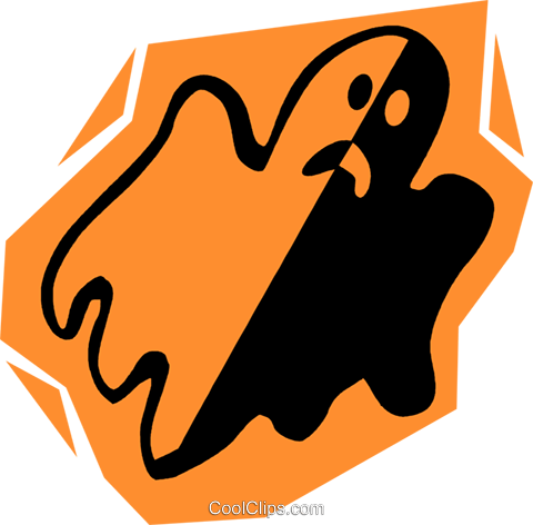 ghosts Royalty Free Vector Clip Art illustration vc027245