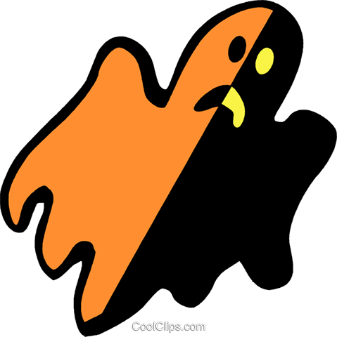 ghosts Royalty Free Vector Clip Art illustration vc027250
