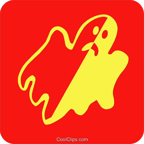 ghosts Royalty Free Vector Clip Art illustration vc027255